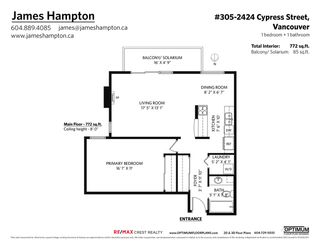 """Photo 27: 305 2424 CYPRESS Street in Vancouver: Kitsilano Condo for sale in """"CYPRESS PLACE"""" (Vancouver West)  : MLS®# R2572541"""