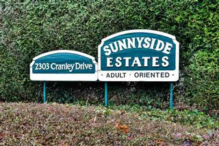 """Photo 1: 91 2303 CRANLEY Drive in Surrey: King George Corridor Manufactured Home for sale in """"Sunnyside"""" (South Surrey White Rock)  : MLS®# R2237731"""