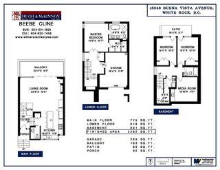 Photo 10: 15048 BUENA VISTA AVENUE in South Surrey White Rock: White Rock Home for sale ()  : MLS®# R2181064