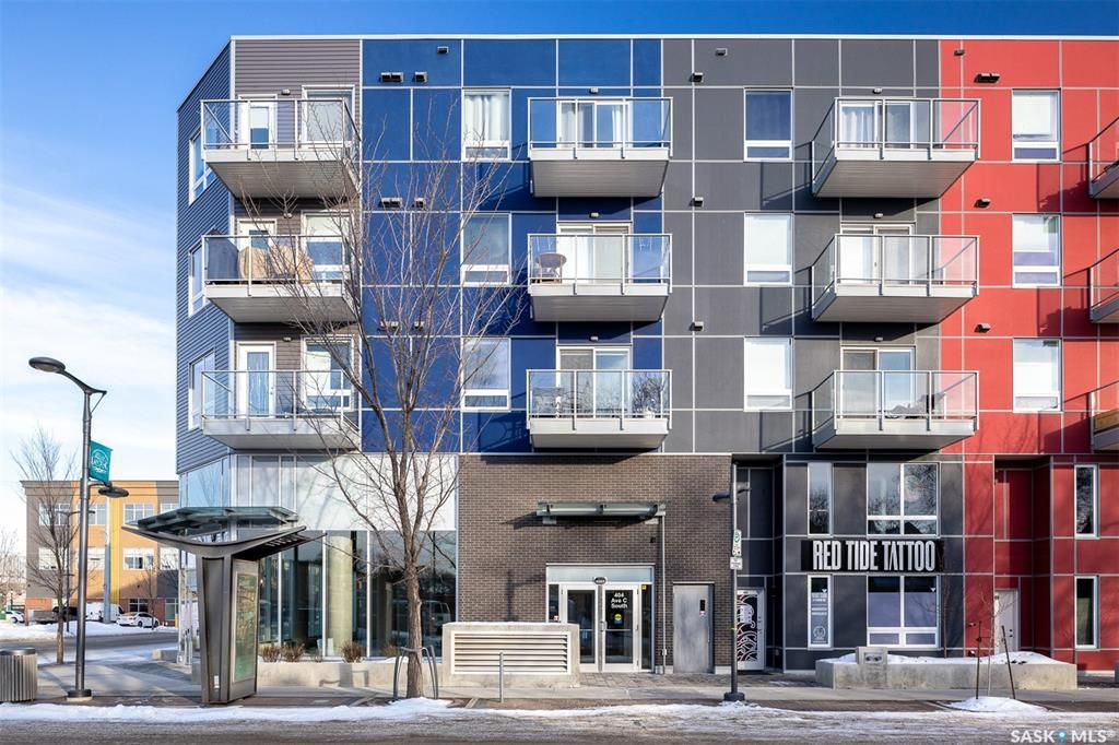 Main Photo: 323 404 C Avenue South in Saskatoon: Riversdale Residential for sale : MLS®# SK842119