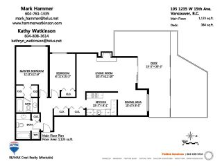 """Photo 10: 105 1235 W 15TH Avenue in Vancouver: Fairview VW Condo for sale in """"THE SHAUGHNESSY"""" (Vancouver West)  : MLS®# V920886"""
