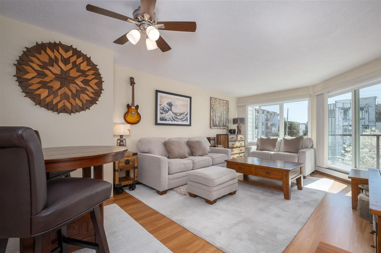 """Main Photo: 209 156 W 21ST Street in North Vancouver: Central Lonsdale Condo for sale in """"Ocean View"""" : MLS®# R2568828"""