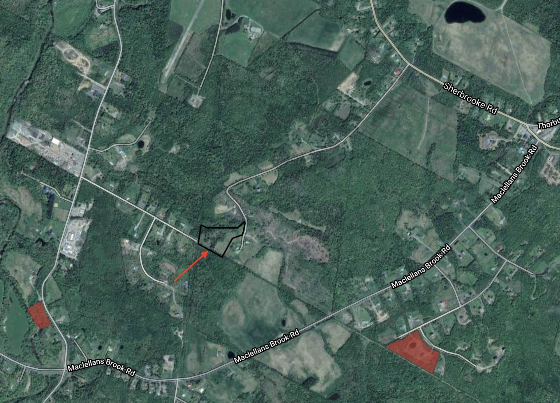 Main Photo: Lot 2 Reeves Road in Thorburn: 108-Rural Pictou County Vacant Land for sale (Northern Region)  : MLS®# 202101028