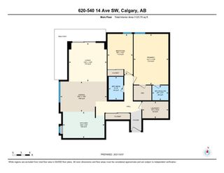 Photo 27: 620 540 14 Avenue SW in Calgary: Beltline Apartment for sale : MLS®# A1152741