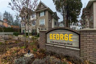 """Photo 1: 16 1708 KING GEORGE Boulevard in Surrey: King George Corridor Townhouse for sale in """"George"""" (South Surrey White Rock)  : MLS®# R2229813"""