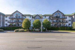 """Photo 1: 411 32044 OLD YALE Road in Abbotsford: Abbotsford West Condo for sale in """"Green Gables"""" : MLS®# R2611024"""
