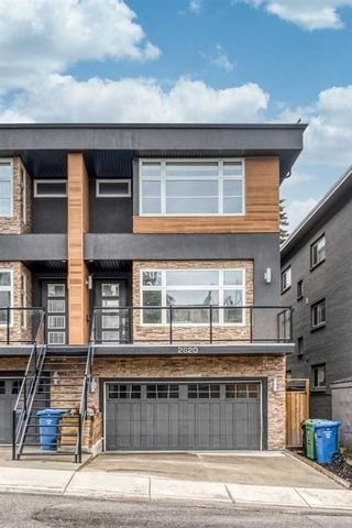 Photo 1: 2620 15A Street SW in Calgary: Bankview Semi Detached for sale : MLS®# A1118956