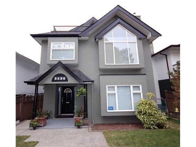 Main Photo: 3430 NAPIER Street in Vancouver: Renfrew VE House for sale (Vancouver East)  : MLS®# V993572