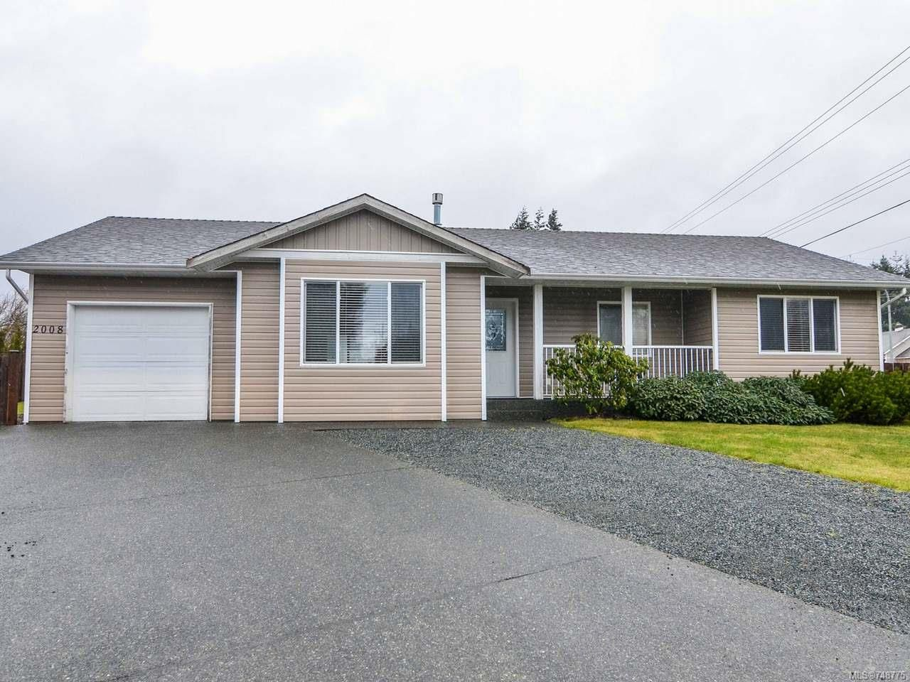Main Photo: 2008 Eardley Rd in CAMPBELL RIVER: CR Willow Point House for sale (Campbell River)  : MLS®# 748775