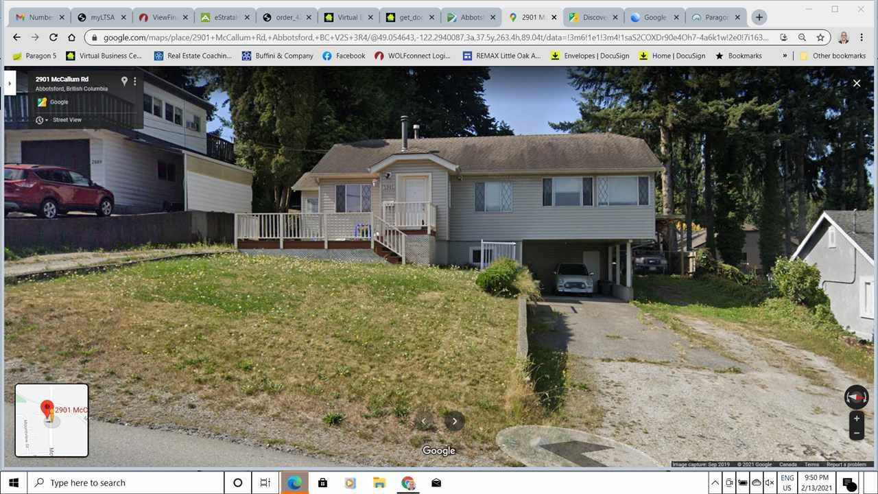 Main Photo: 2901 MCCALLUM Road in Abbotsford: Central Abbotsford House for sale : MLS®# R2538729
