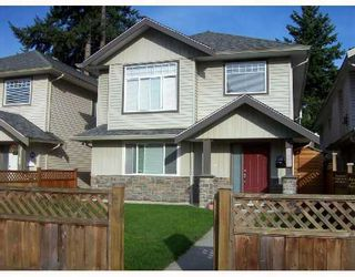 Photo 1: 3160 JERVIS Street in Port_Coquitlam: Central Pt Coquitlam House for sale (Port Coquitlam)  : MLS®# V770672