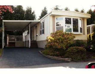 """Photo 1: 61 15875 20TH Avenue in White_Rock: King George Corridor Manufactured Home for sale in """"Searidge Bays"""" (South Surrey White Rock)  : MLS®# F2714371"""