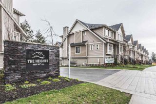 """Photo 1: 32 19097 64 Avenue in Surrey: Cloverdale BC Townhouse for sale in """"The Heights"""" (Cloverdale)  : MLS®# R2231144"""