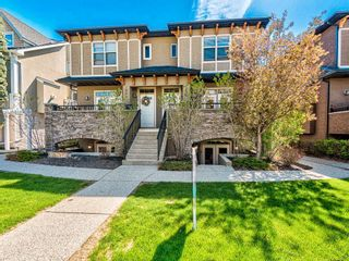 Photo 1: 2 1936 24A Street SW in Calgary: Richmond Row/Townhouse for sale : MLS®# A1127326