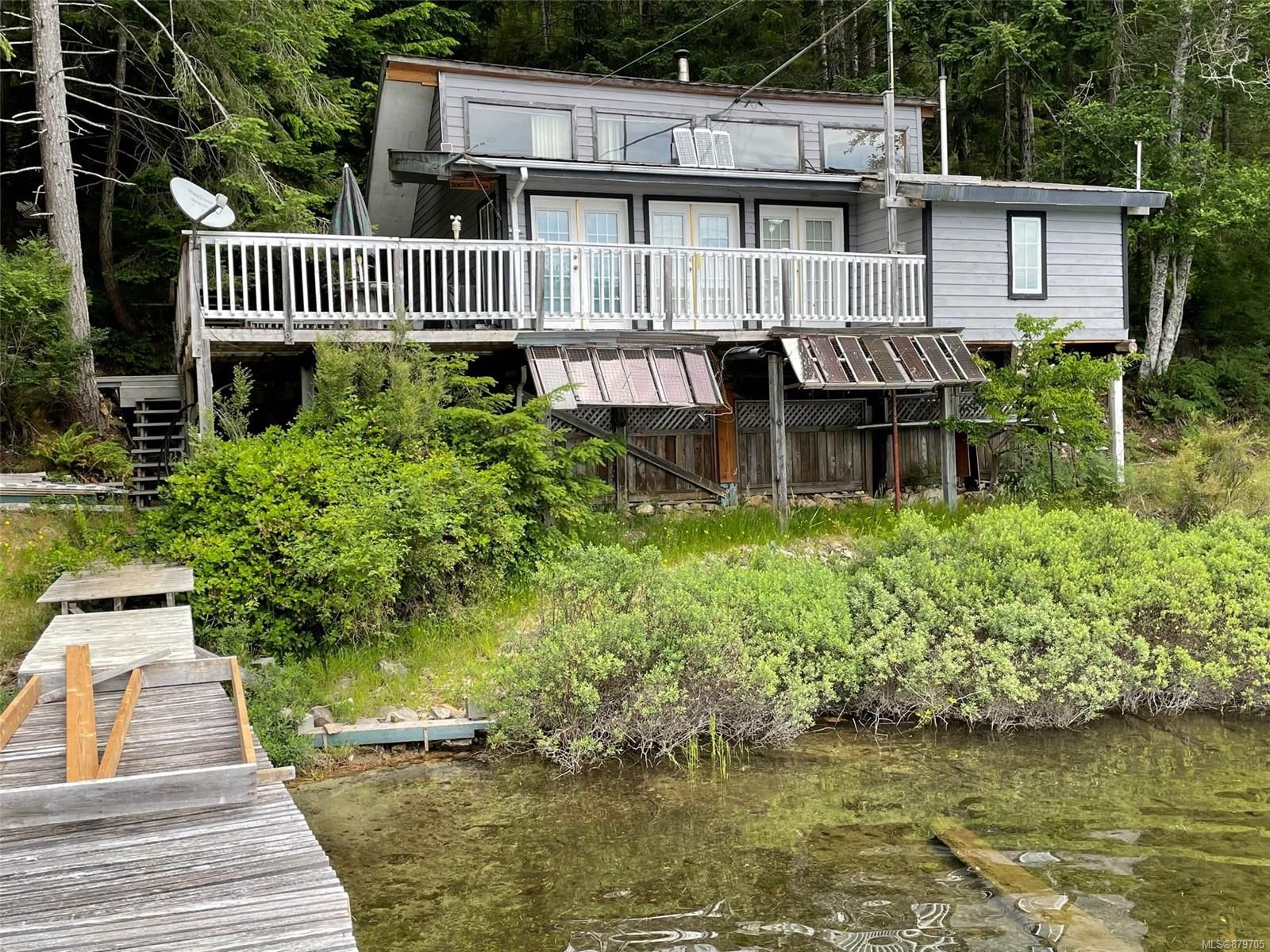 Main Photo: Block D Village Bay Lake in : Isl Quadra Island Recreational for sale (Islands)  : MLS®# 879705