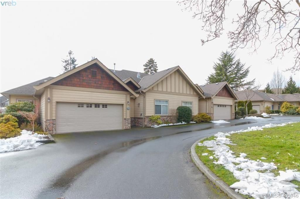 Main Photo: 14 3281 Maplewood Rd in VICTORIA: SE Cedar Hill Row/Townhouse for sale (Saanich East)  : MLS®# 806728