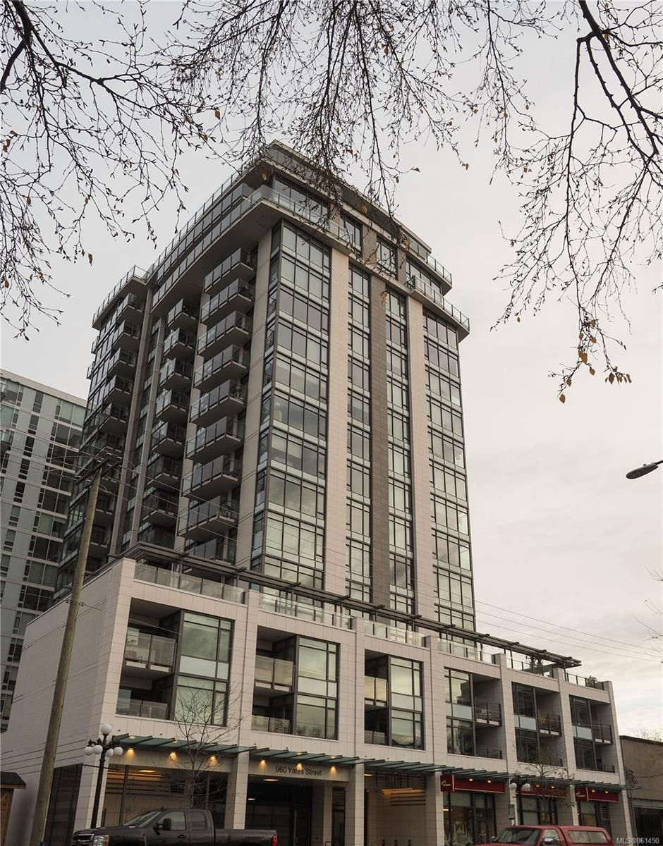 Main Photo: 1505 960 Yates St in : Vi Downtown Condo for sale (Victoria)  : MLS®# 861450