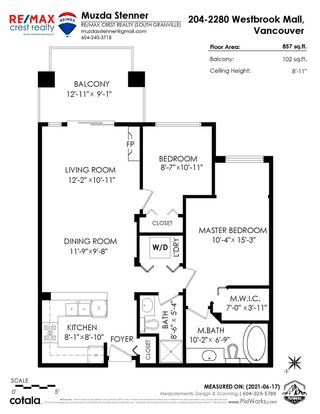 """Photo 26: 204 2280 WESBROOK Mall in Vancouver: University VW Condo for sale in """"KEATS HALL"""" (Vancouver West)  : MLS®# R2594551"""