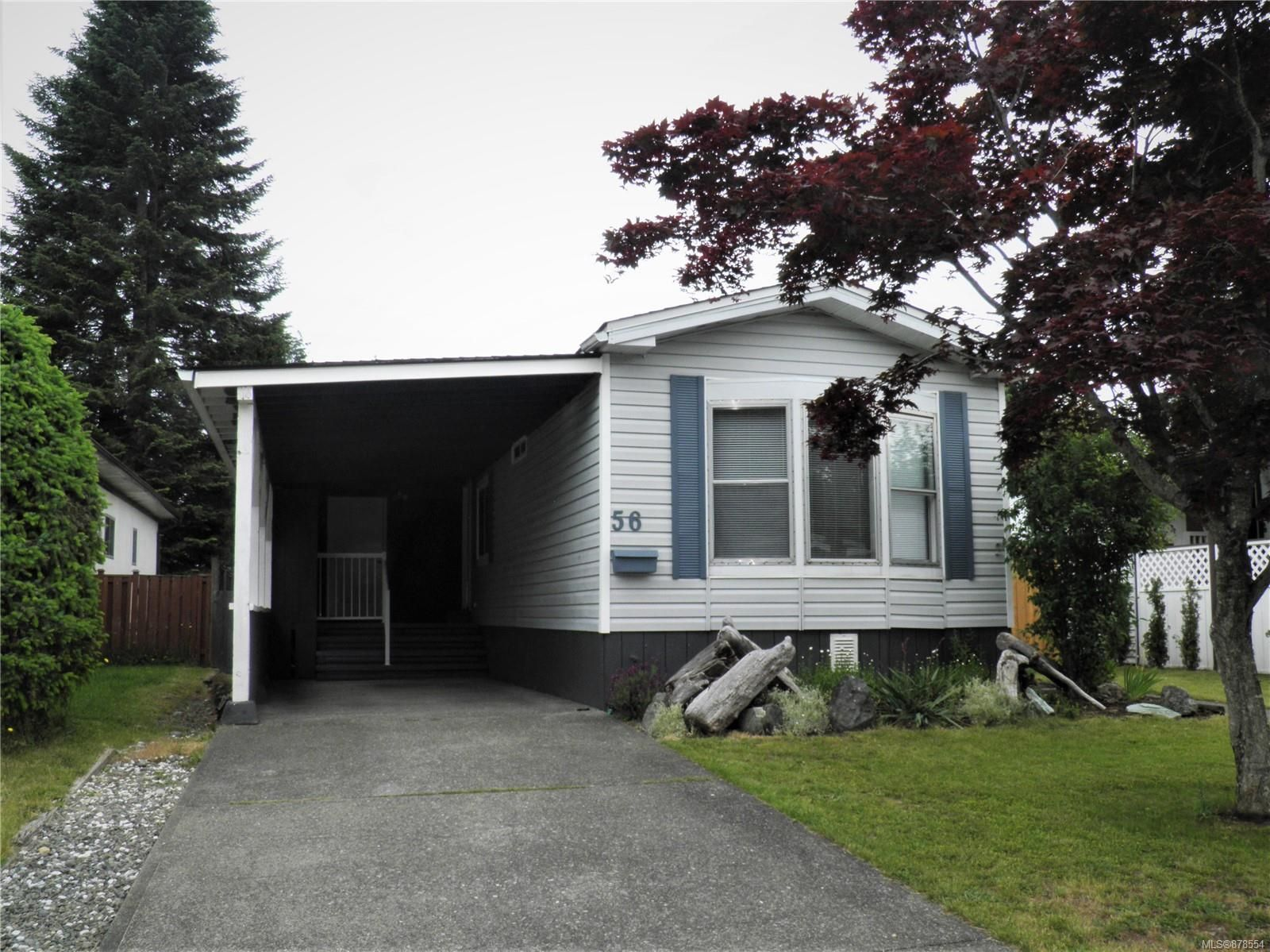 Main Photo: 56 390 Cowichan Ave in : CV Courtenay East Manufactured Home for sale (Comox Valley)  : MLS®# 878554
