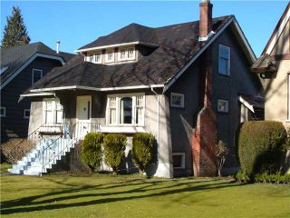 Photo 1: 3859 W 23RD Avenue in Vancouver: Dunbar House for sale (Vancouver West)  : MLS®# V872882