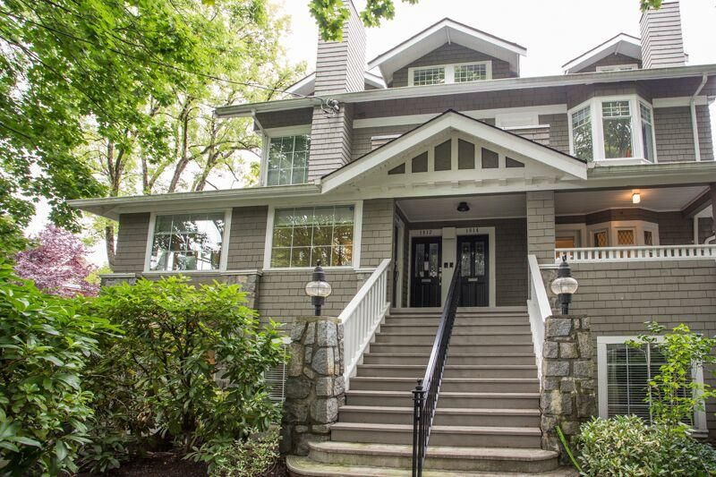 Main Photo: 1810 COLLINGWOOD Street in Vancouver: Kitsilano Townhouse for sale (Vancouver West)  : MLS®# R2407784