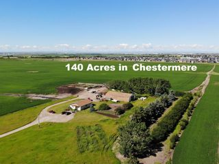 Main Photo: 240249 Range Road 281 Road: Chestermere Land for sale : MLS®# A1045129
