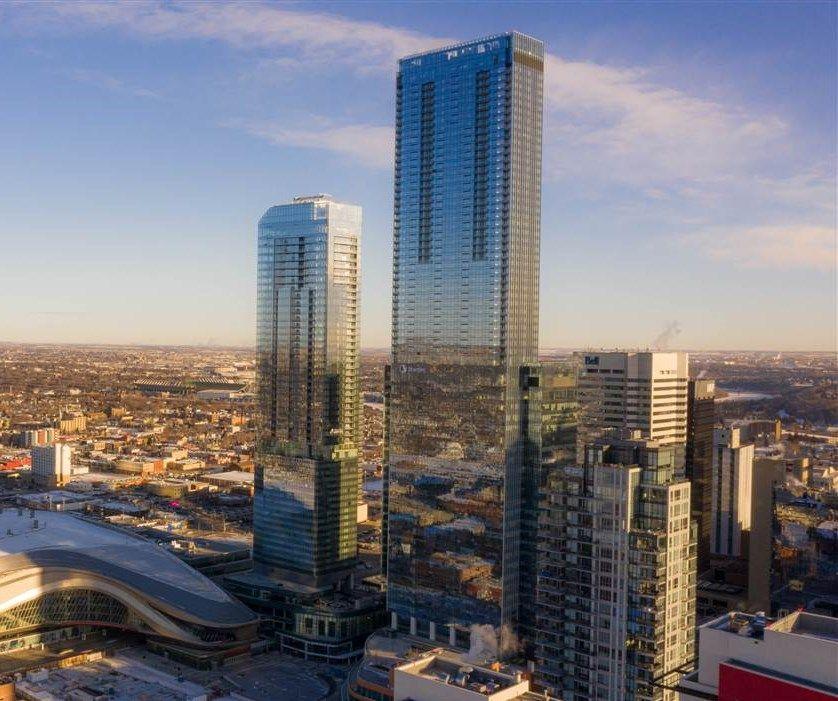 Main Photo: 4406 10310 102 Street in Edmonton: Zone 12 Condo for sale : MLS®# E4221002