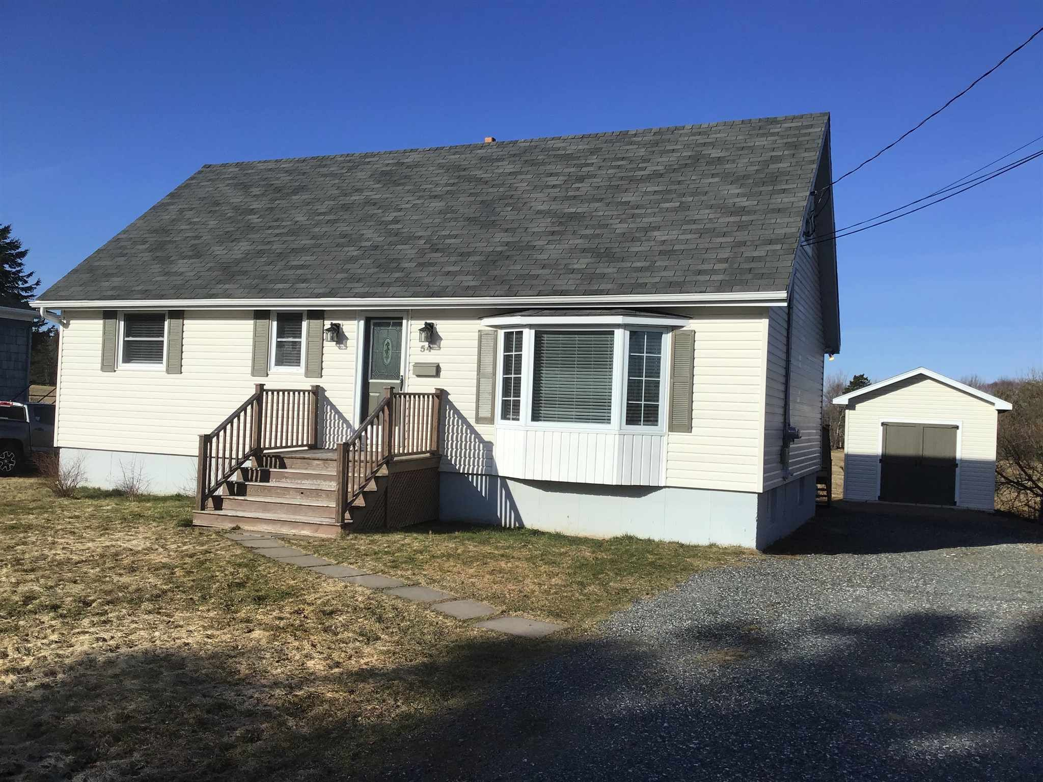 Main Photo: 54 Melwood Drive in Westmount: 202-Sydney River / Coxheath Residential for sale (Cape Breton)  : MLS®# 202106755