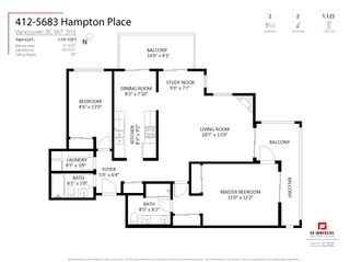 """Photo 22: 412 5683 HAMPTON Place in Vancouver: University VW Condo for sale in """"Wyndham Hall"""" (Vancouver West)  : MLS®# R2605599"""