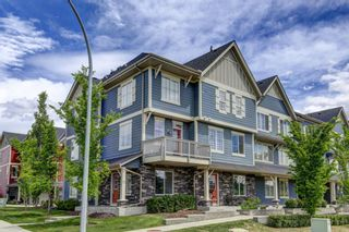 Photo 1: 1002 125 PANATELLA Way NW in Calgary: Panorama Hills Row/Townhouse for sale : MLS®# A1120145