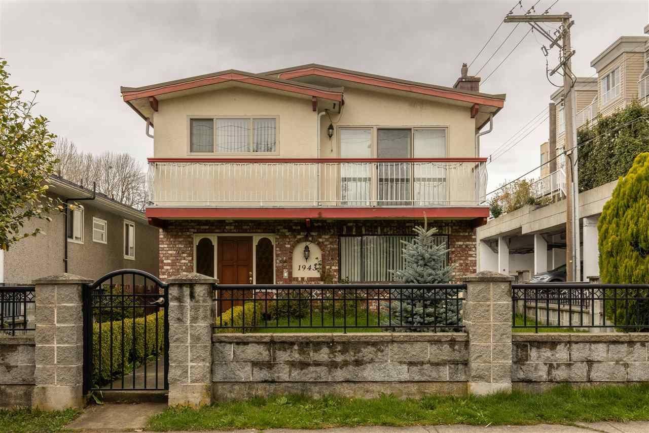 """Main Photo: 1943 E 55TH Avenue in Vancouver: Killarney VE House for sale in """"KILLARNEY"""" (Vancouver East)  : MLS®# R2561763"""