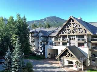 """Photo 1: 101 4800 SPEARHEAD Drive in Whistler: Benchlands Condo for sale in """"The Aspens"""" : MLS®# R2623932"""