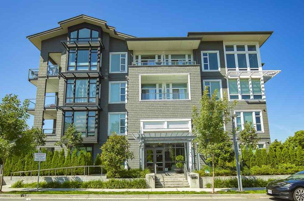"Main Photo: 111 2393 RANGER Lane in Port Coquitlam: Riverwood Condo for sale in ""FREMONT EMERALD"" : MLS®# R2486961"