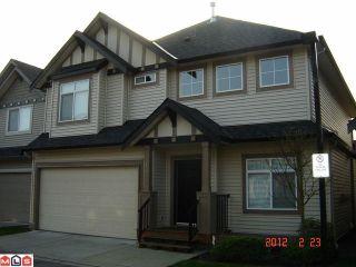 Photo 1: 14 6195 168TH Street in Surrey: Cloverdale BC House for sale (Cloverdale)  : MLS®# F1204730