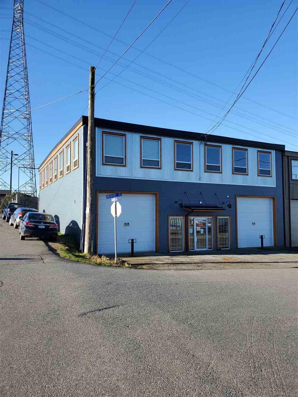 Main Photo: 101 6967 BRIDGE Street: Industrial for lease in Mission: MLS®# C8036953