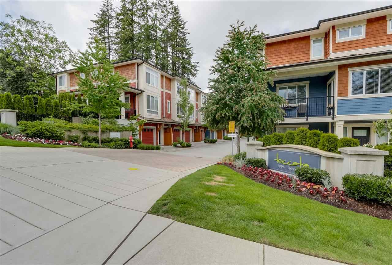 Main Photo: 25 2929 156 STREET in : Grandview Surrey Townhouse for sale (South Surrey White Rock)  : MLS®# R2081456