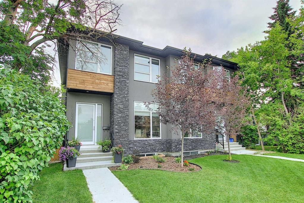 Main Photo: 3604 1 Street NW in Calgary: Highland Park Semi Detached for sale : MLS®# A1018609
