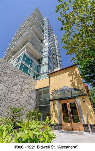"""Photo 20: 806 1221 BIDWELL Street in Vancouver: West End VW Condo for sale in """"Alexandra"""" (Vancouver West)  : MLS®# R2019706"""