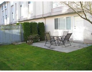 """Photo 10: 14 2538 PITT RIVER Road in Port_Coquitlam: Mary Hill Townhouse for sale in """"RIVER COURT"""" (Port Coquitlam)  : MLS®# V769899"""