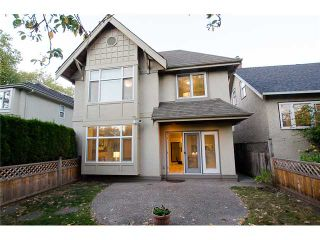 Photo 1: 2871 W 16TH Avenue in Vancouver: Kitsilano 1/2 Duplex for sale (Vancouver West)  : MLS®# V975217