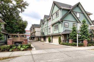 "Photo 1: 6 7393 TURNILL Street in Richmond: McLennan North Townhouse for sale in ""Karat"" : MLS®# R2098805"