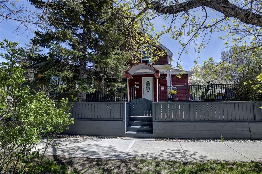 Main Photo: 1036 9 Street SE in Calgary: Ramsay Detached for sale : MLS®# C4299272