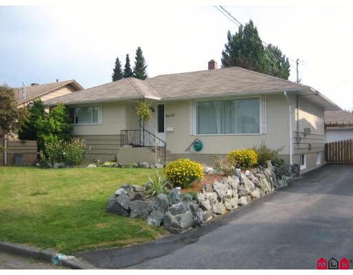 Main Photo: 46218 MAGNOLIA Avenue in Chilliwack: Chilliwack N Yale-Well House for sale : MLS®# H2804468