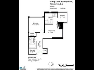 """Photo 25: 2605 1068 HORNBY Street in Vancouver: Downtown VW Condo for sale in """"THE CANADIAN AT WALL CENTRE"""" (Vancouver West)  : MLS®# R2585193"""
