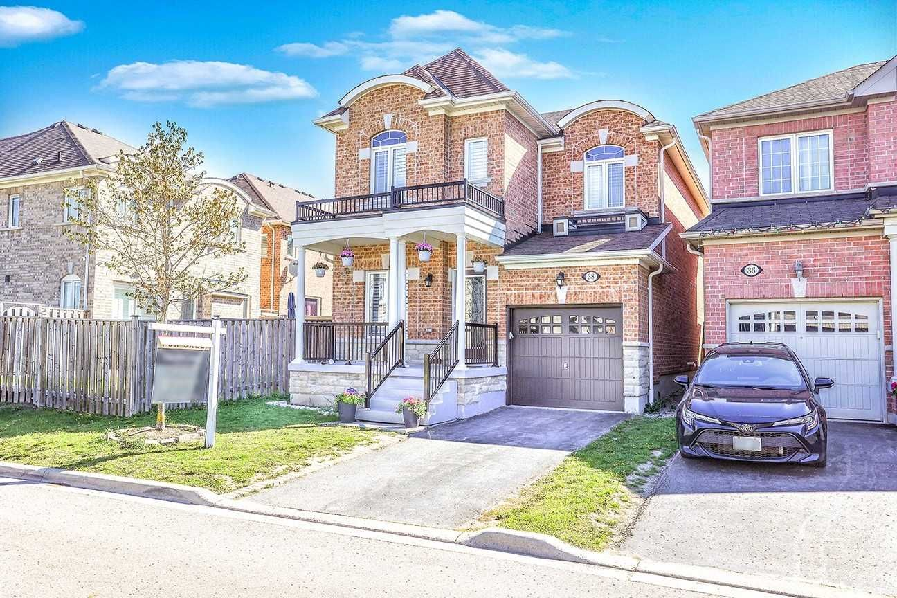 Main Photo: 38 Cater Avenue in Ajax: Northeast Ajax House (2-Storey) for sale : MLS®# E5236280