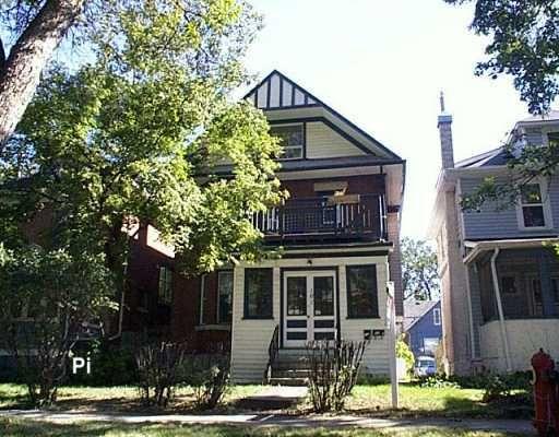 Main Photo: 161 LENORE Street in WINNIPEG: West End / Wolseley Residential for sale (West Winnipeg)  : MLS®# 2807018