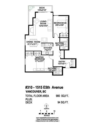 """Photo 16: 310 1515 E 5TH Avenue in Vancouver: Grandview VE Condo for sale in """"WOODLAND PLACE"""" (Vancouver East)  : MLS®# R2000836"""
