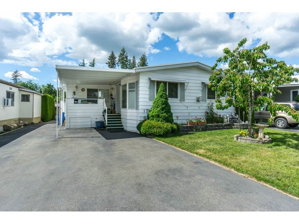 """Main Photo: 178 3665 244 Street in Langley: Otter District Manufactured Home for sale in """"LANGLEY GROVE ESTATES"""" : MLS®# R2272680"""