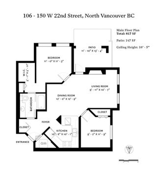 """Photo 20: 106 150 W 22ND Street in North Vancouver: Central Lonsdale Condo for sale in """"The Sierra"""" : MLS®# R2418794"""