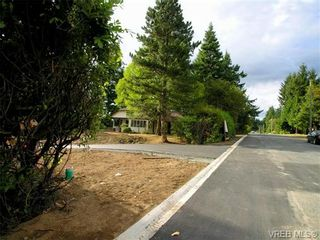 Photo 2: SL 4 Rodolph Rd in VICTORIA: CS Tanner Land for sale (Central Saanich)  : MLS®# 708710